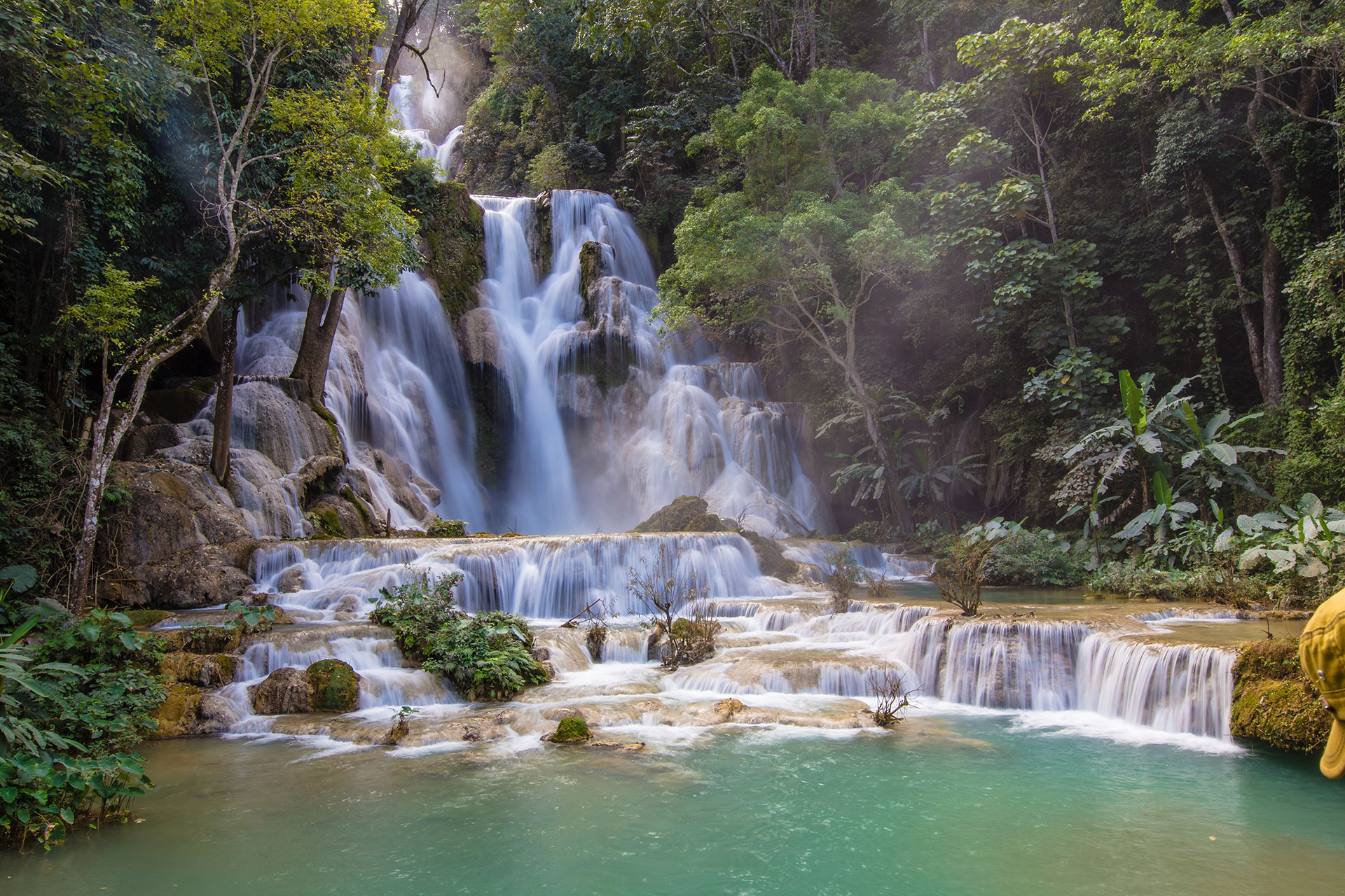 the complete guide to laos waterfalls tripfuser travel blog hand