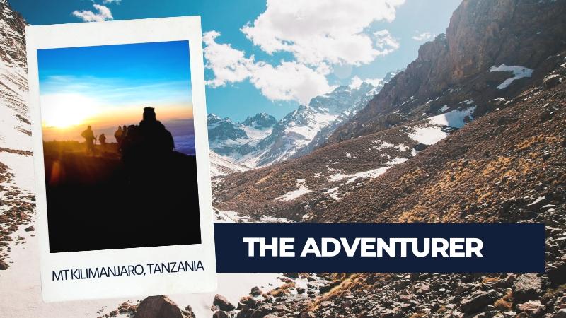adventurer type of traveller