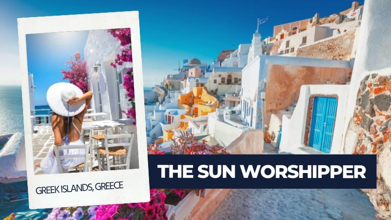 sun worshipper type of traveller