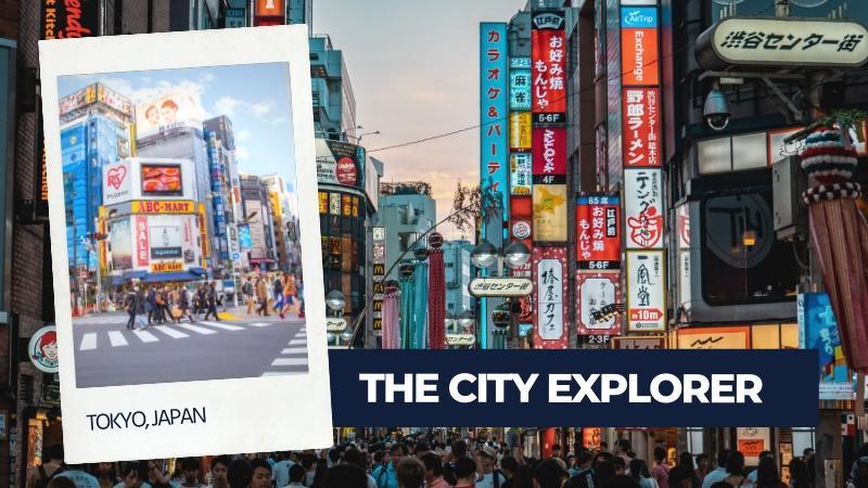 city explorer type of traveller