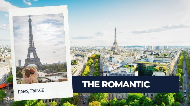 romantic type of traveller