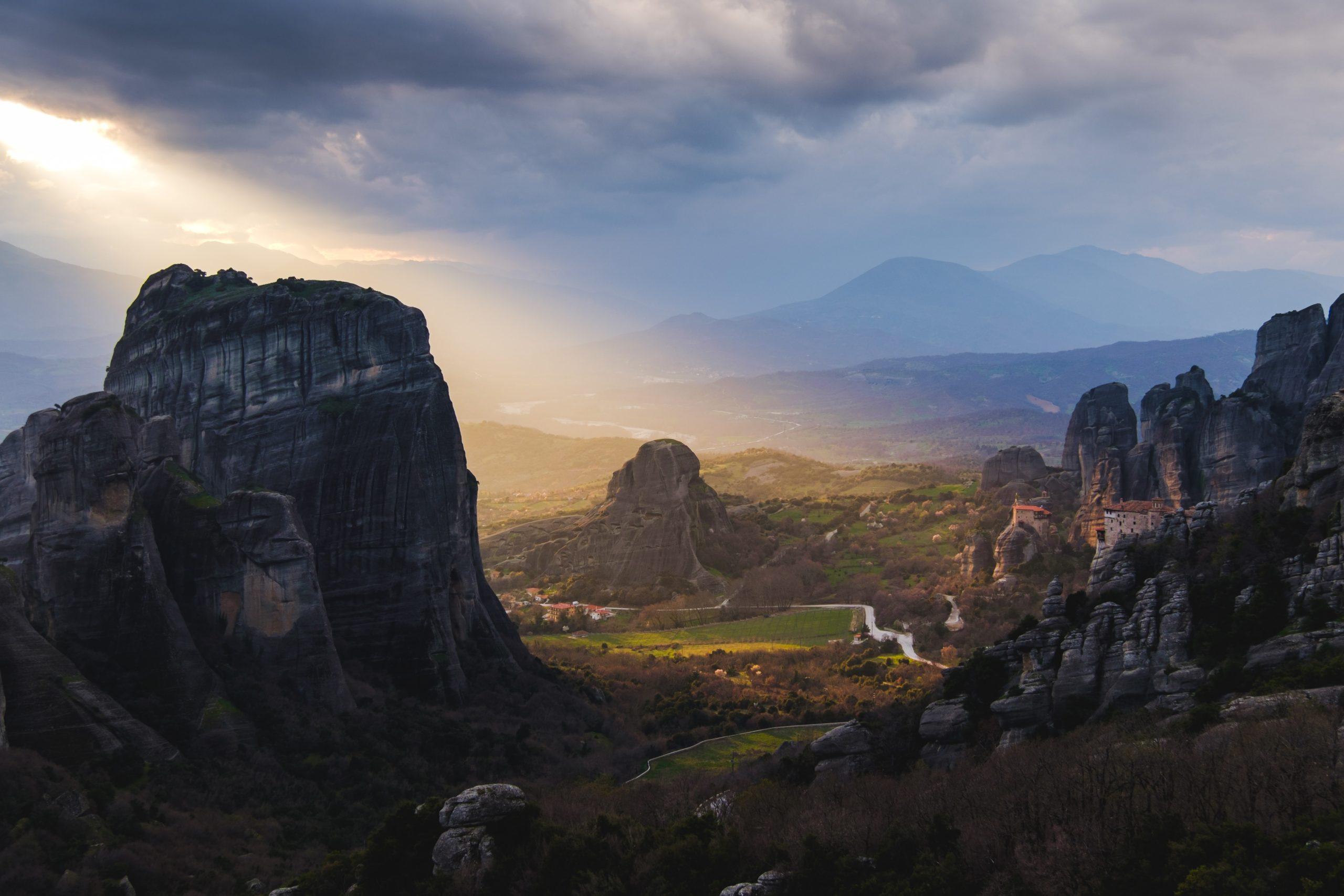 greece mainland itinerary 7 days
