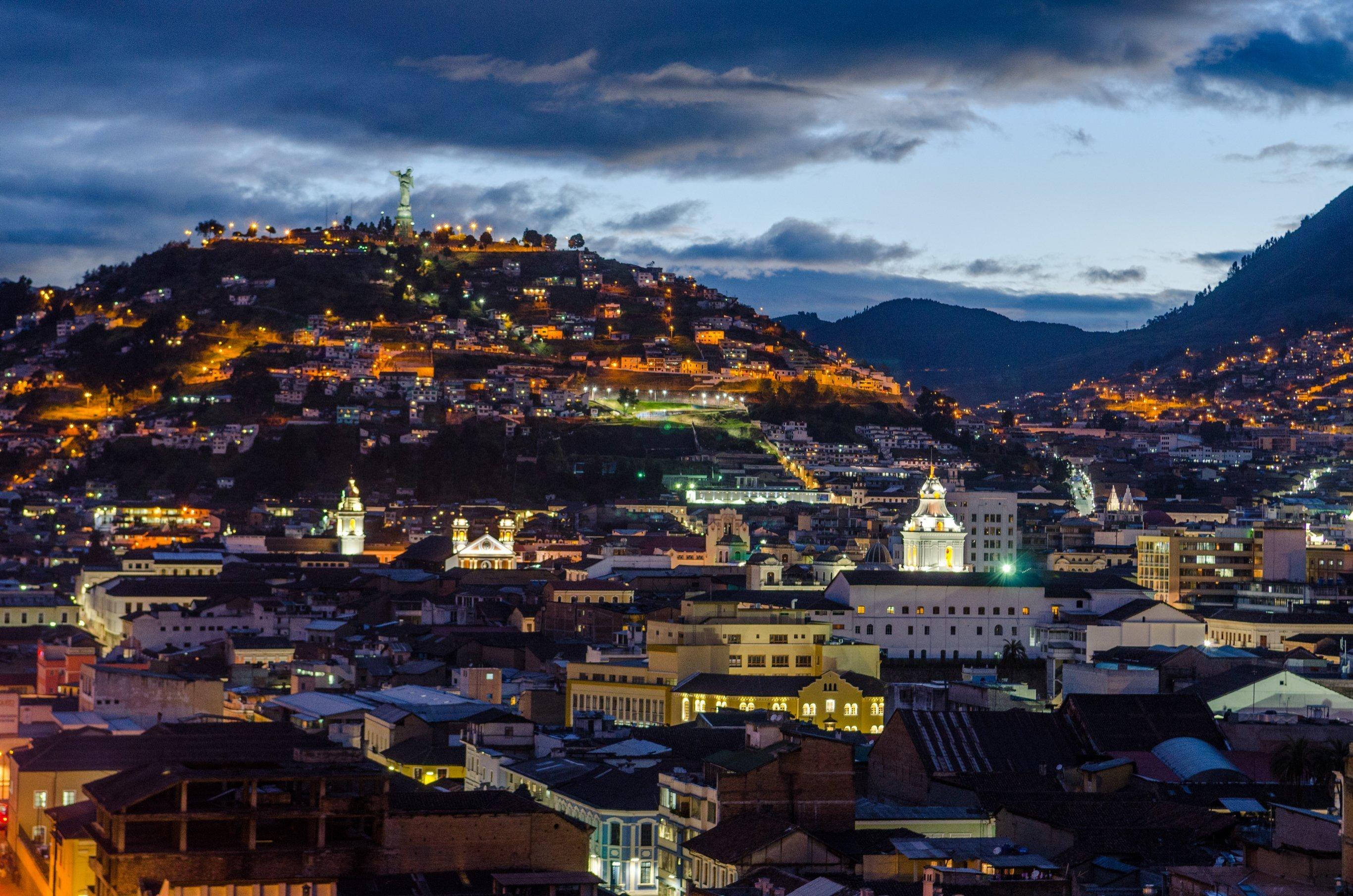 7-Day The Volcano Avenue of Ecuador - Ecuador Itinerary