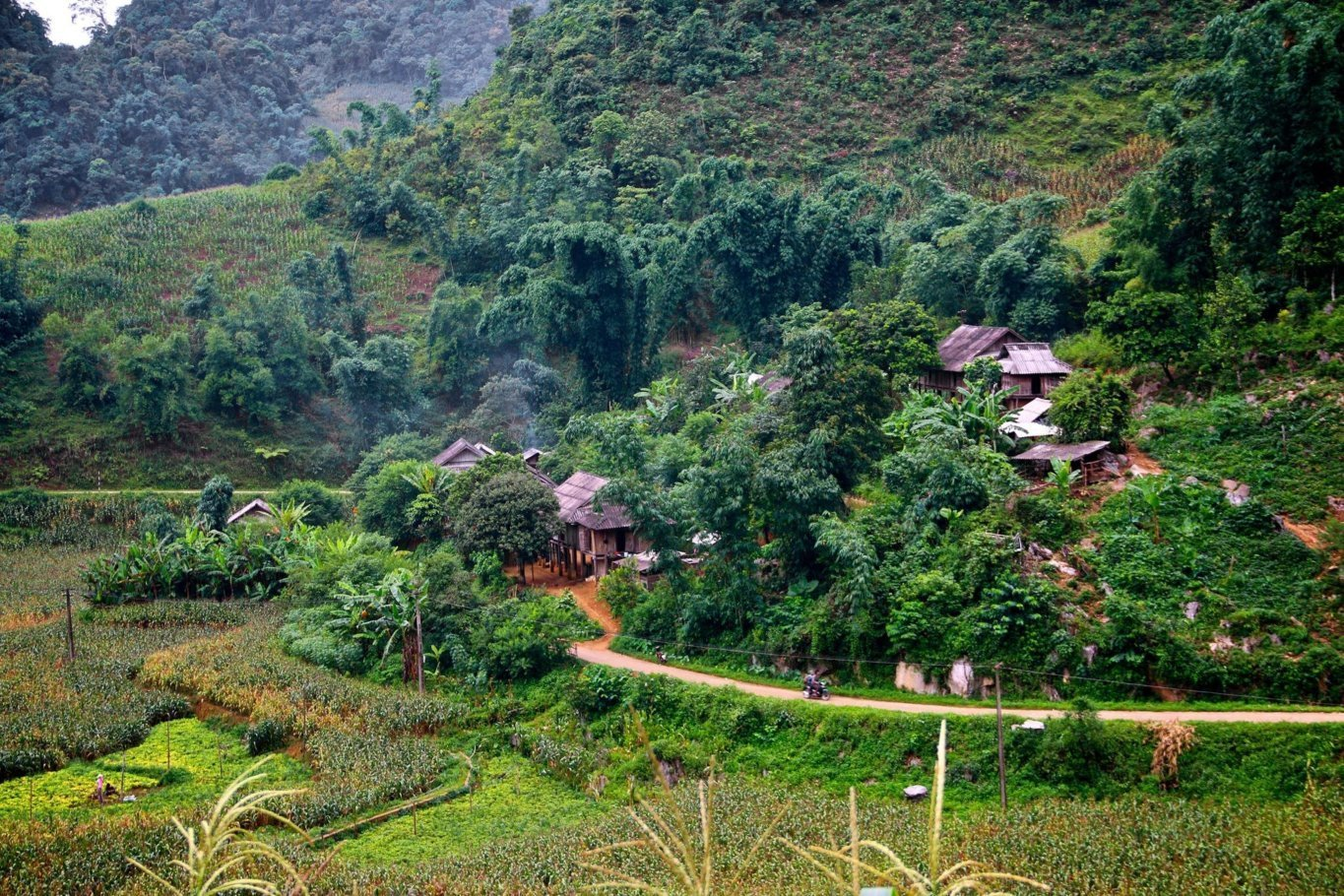 2-Day Pu Bin Spice Hill Farm Stay - Vietnam Itinerary